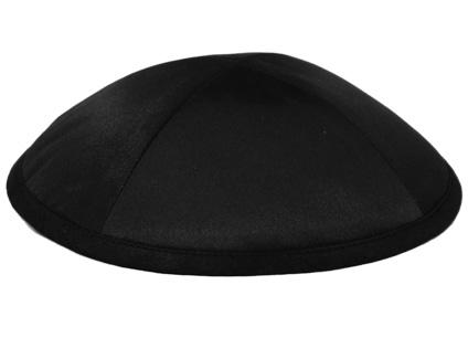 Black Deluxe Kippah