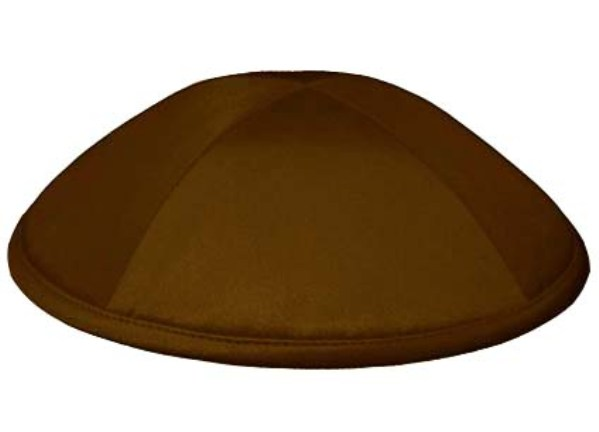 Brown Deluxe Kippah