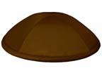 Brown Satin Deluxe Kippah