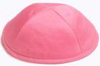 Neon Pink Satin  Deluxe Kippah