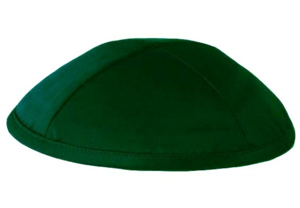 Dark Green Deluxe Kippah