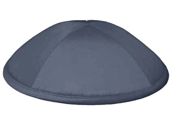 Dark Grey Deluxe Kippah