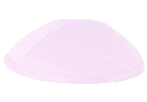 Light Pink Deluxe Satin Kippah