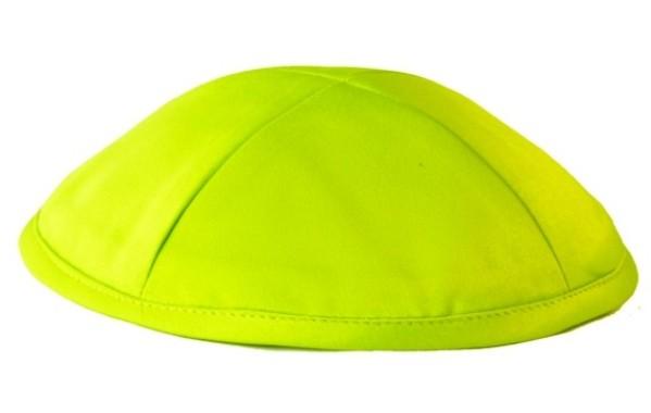 Lime Green Deluxe Kippah