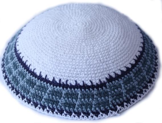 Knit-33 Knit Kippah