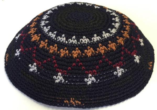 Multi Color Cotton Crochet Knit Kippah