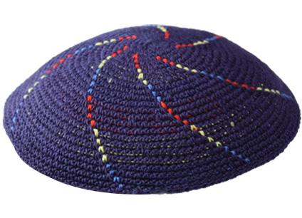 Knit-04 Knit Kippah