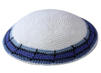Knit-11 Knit Kippah