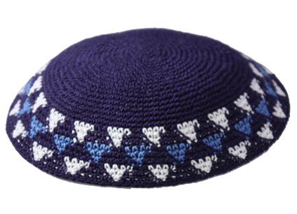 Knit-18 Knit Kippah