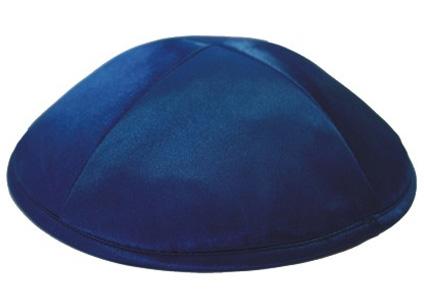 Navy Blue Deluxe Kippah
