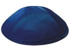 Navy Blue Satin Deluxe Kippah