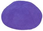 Purple Ultra suede Kippah