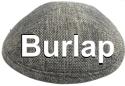 Burlap Kippahs