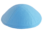 Light Blue Felt Kippot