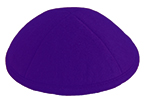 Purple Felt Kippot