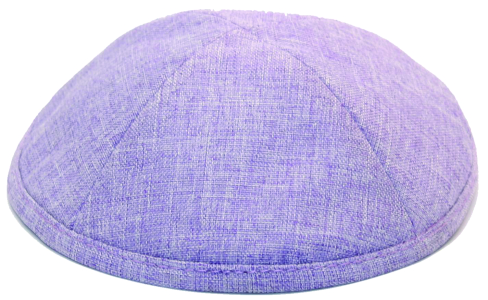 Lavender Linen Kippah