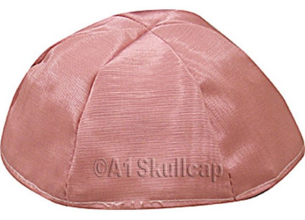Dusty Rose Moire Kippah