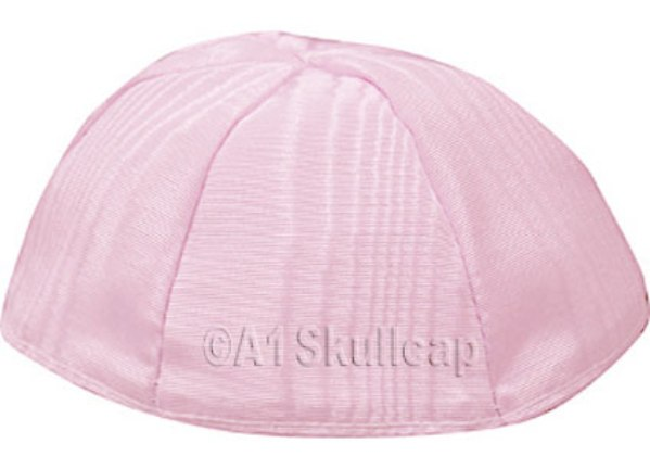 Light Pink Moire Kippah