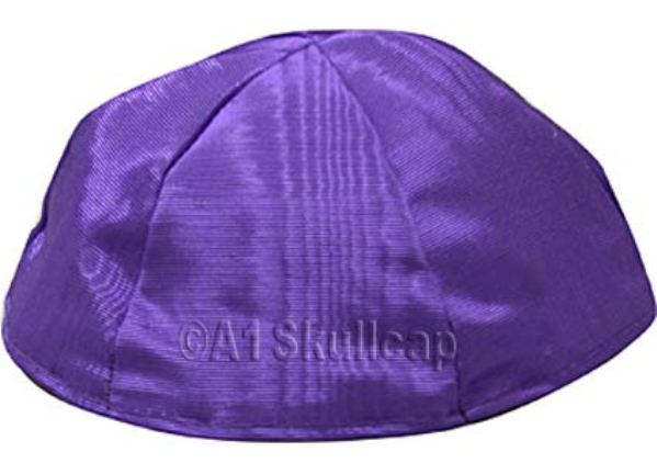Purple Moire Kippah