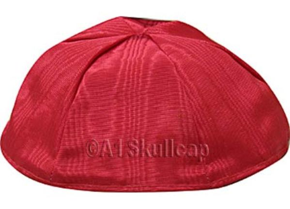 Red Moire Kippah