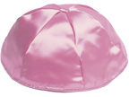 Dusty Rose Satin Kippah