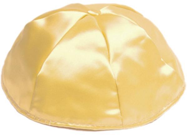 Gold Satin Kippah