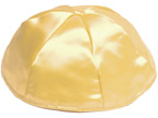 Gold Satin Kippot