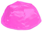 Hot Pink Satin Kippah