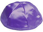 Purple Satin Kippot