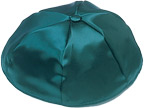 Teal Satin Kippot