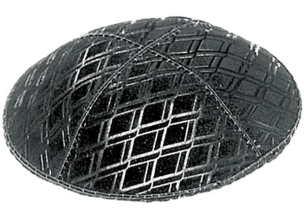 Diamond Shape Design suede Kippah