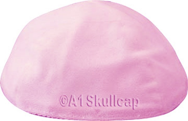 Light Pink Velvet Kippah