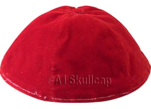 Red Velvet Kippah