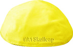 Yellow Velvet Yarmulke