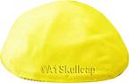 Yellow Velvet Kippah